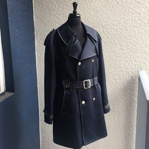 Vintage Lined Trench Coat